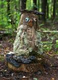 Morador engraçado da floresta Foto de Stock