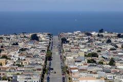 Moraga Street - San Francisco, California Stock Photo