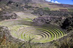 Morai Maras, Peru Fotos de Stock Royalty Free