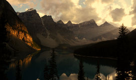 Morain Lake Royalty Free Stock Photography