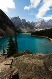 moraine λιμνών στοκ εικόνες με δικαίωμα ελεύθερης χρήσης