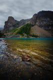 moraine λιμνών Στοκ Φωτογραφίες