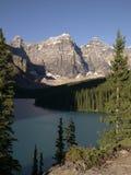 Moraine 01 do lago imagens de stock royalty free