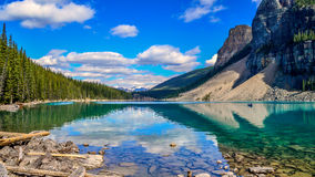 Moraine del lago Fotografie Stock