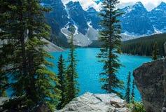 Moraine del lago Foto de archivo