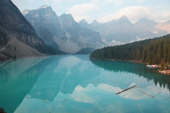 Moraine do lago Imagem de Stock Royalty Free