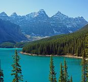 Moraine_final Stock Images