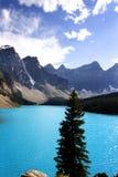 Moraine lake. Banff Alberta stock photo