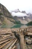 Moraine lake Royalty Free Stock Photos
