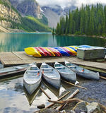 Moraine Lake Stock Photo