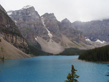Moraine Lake,  Alberta, Canada Royalty Free Stock Photo