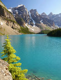 Moraine Lake - Alberta, Canada Stock Photography