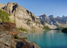 Moraine Lake - Alberta, Canada Royalty Free Stock Image