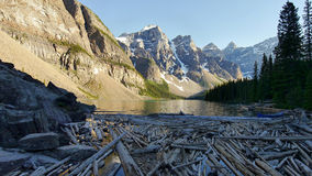 Moraine Lake - Alberta, Canada Royalty Free Stock Photos