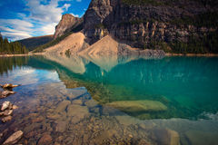 Moraine Lake, Alberta, Canada stock image