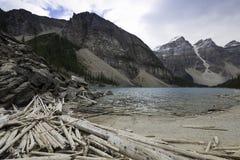 Moraine Lake, Banff, Alberta, Canada. Stock Image