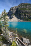 Moraine Lake at the Banff National Park Stock Photography