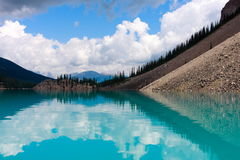 Moraine Lake. Banff national park, Alberta Canada Royalty Free Stock Photography