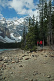 Moraine Lake, Banff National Park, Alberta, Canada Royalty Free Stock Photo