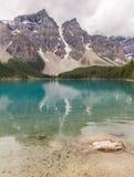 Moraine lake Banff National Park, Alberta, Canada. Stock Photography