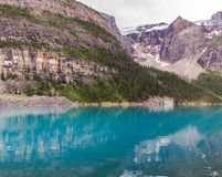 Moraine lake Banff National Park, Alberta, Canada. Royalty Free Stock Photos