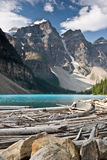 Moraine Lake, Banff National Park, Canada Stock Photos