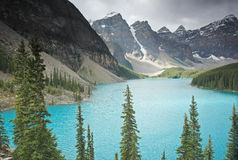 Moraine Lake, Banff National Park, Canada Stock Image