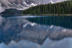 Moraine Lake Banff National park Royalty Free Stock Images