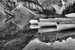 Moraine Lake Banff National Park Stock Photography
