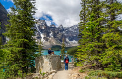 Moraine lake, Banff Royalty Free Stock Image