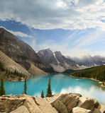 Moraine Lake Banff Provincial Park Royalty Free Stock Image