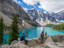 Moraine lake, Banff Royalty Free Stock Images