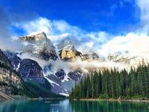 Moraine Lake Stock Image