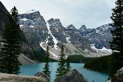 Moraine Lake,Lake Louise,Alberta,Canada. Stock Image