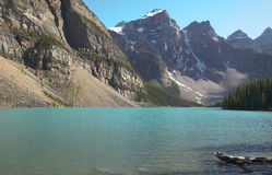 Moraine lake landscape. Alberta. Canada. Stock Photography