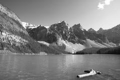 Moraine lake landscape. Alberta. Canada Stock Image