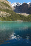 Moraine lake landscape. Alberta. Canada. Stock Image