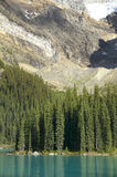 Moraine lake landscape. Alberta. Canada Stock Images