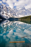 Moraine Lake, Rocky Mountains, Canada Stock Image