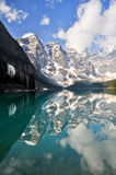 Moraine Lake, Rocky Mountains, Canada. Moraine Lake, Rocky Mountains (Canada royalty free stock photos