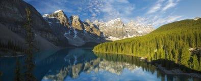 Moraine Lake Sunrise Royalty Free Stock Photography