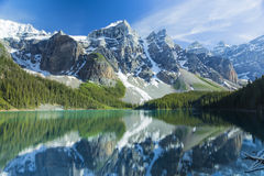 Moraine Reflections Stock Images