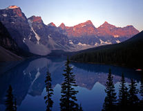 MoraineLake Royalty Free Stock Images