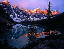 MoraineLake#5 Stockfoto