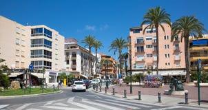 Moraira,西班牙 库存照片