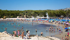 Moraira beach Stock Image