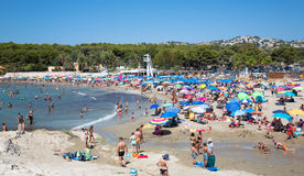 Moraira beach Royalty Free Stock Photography