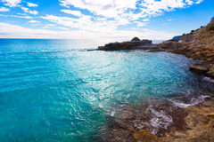 Free Moraira Cala Andrago Beach In Teulada Alicante Stock Image - 38585751