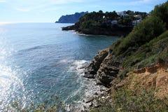 Moraira coast Royalty Free Stock Photos