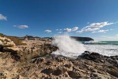 Moraira coastline Stock Photography